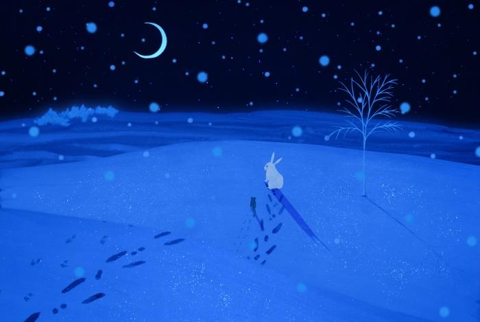 『雪をみたヤマネ』より